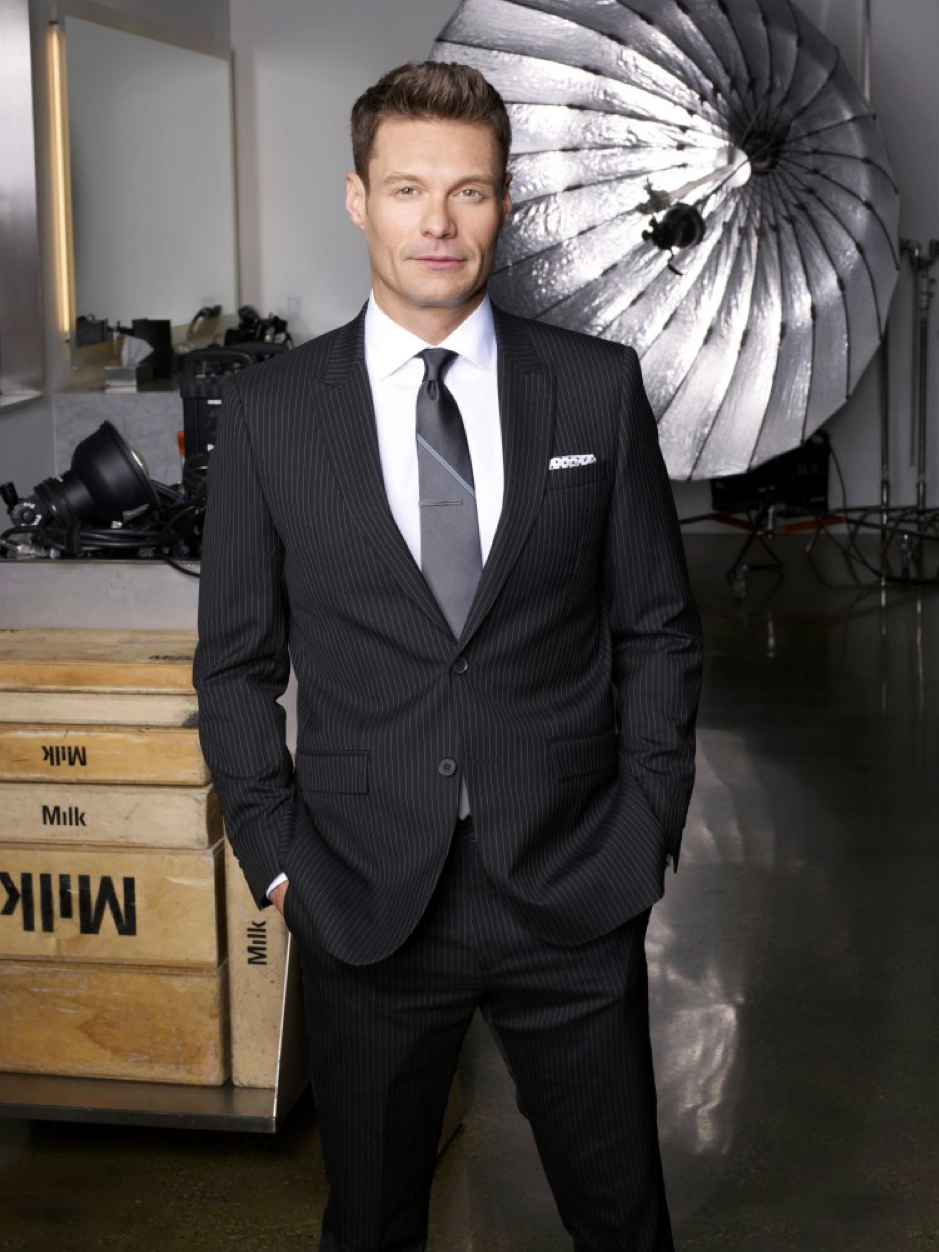 Ryan Seacrest in a Suit